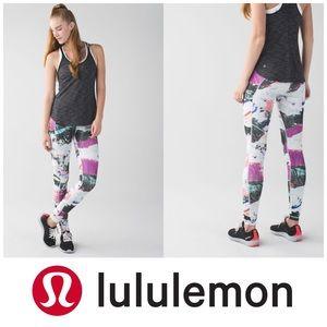 Lululemon speed tight III Luxtreme pigment wave